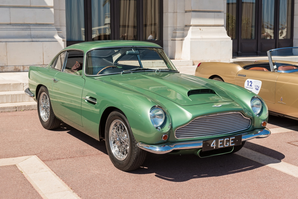 Aston Martin DB4 1960
