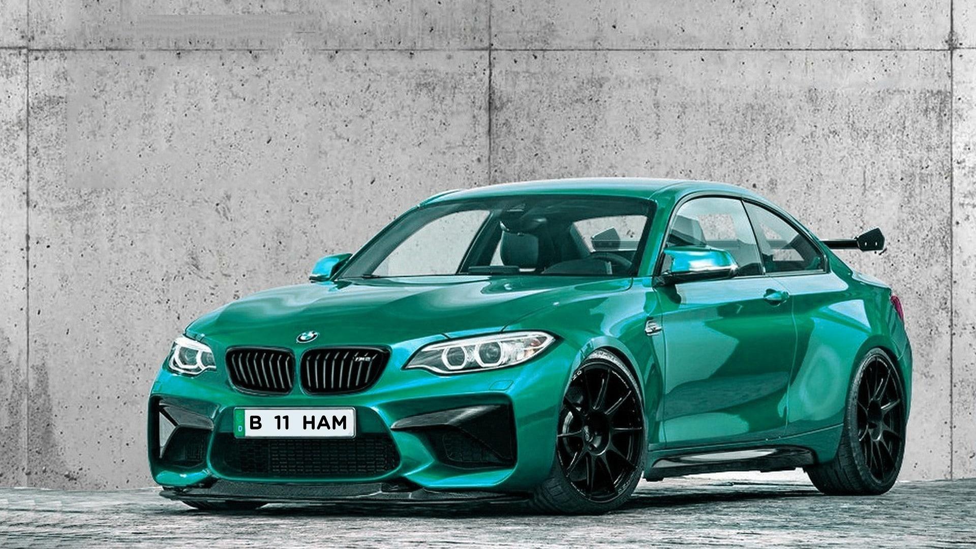 Green BMW M2