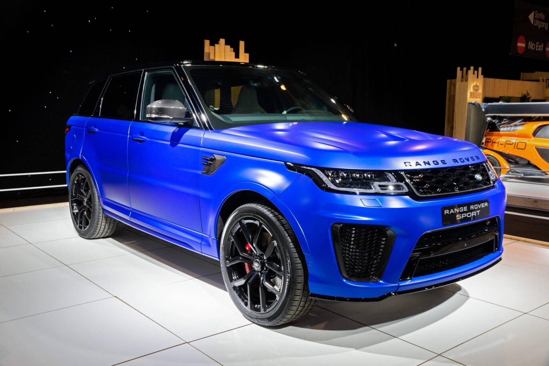 Range Rover Sport SVR 2019